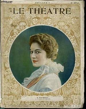 LE THEATRE N°373 - Eve Francis du théâtre de l'oeuvre - La Renaissance : L&#...
