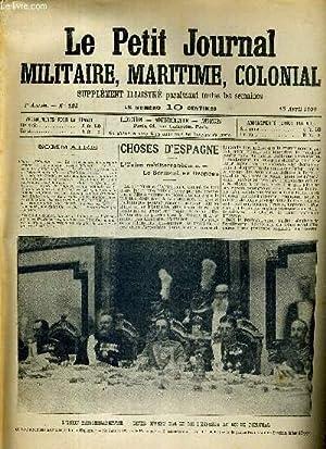 Choses d'Espagne - l'Union méditerranéenne - le serment au drapeau.: LE PETIT JOURNAL ...