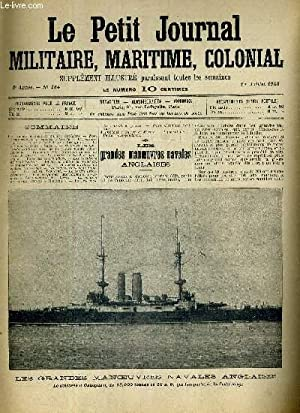Les grandes manoeuvres navales anglaises.: LE PETIT JOURNAL MILITAIRE MARITIME COLONIAL N°134