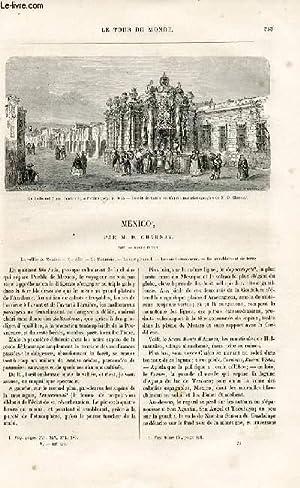 Le tour du monde - nouveau journal des voyages - livraison n°127 - Mexico par M. D. Charnay (...