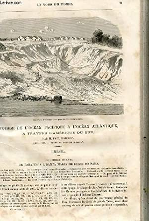 Le tour du monde - nouveau journal des voyages - livraison n°372,373,374 et 375 - Voyage de l&#...