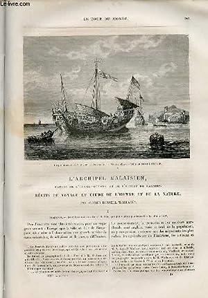 Le tour du monde - nouveau journal des voyages - livraison n°557 et 558 - L'archipel ...