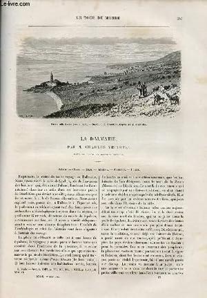 Le tour du monde - nouveau journal des voyages - livraison n°824,825,826 et 827 - la Dalmatie ...