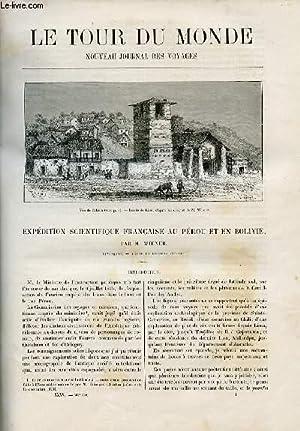 Le tour du monde - nouveau journal des voyages - livraison n°887 ET 888 - Expédition ...