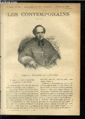 Cardinal de Villecourt (1787-1867). LES CONTEMPORAINS N°220: Ch. d'Avone.