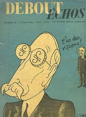 DEBOUT ECHOS N° 29, 9 MARS 1946.: COLLECTIF