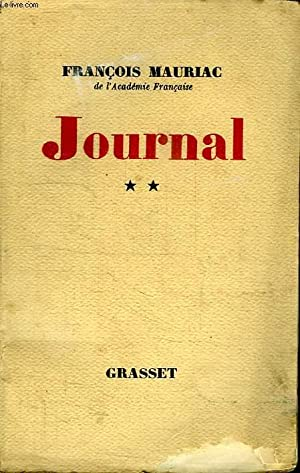 JOURNAL**.: MAURIAC FRANCOIS.