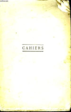 CAHIERS. 1716-1755.: MONTESQUIEU.