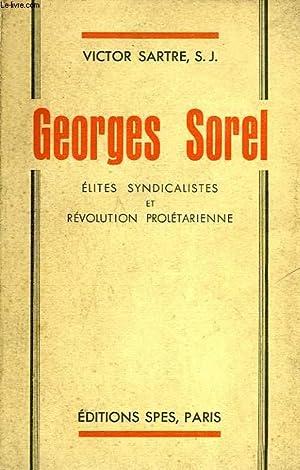 GEORGES SOREL: SARTRE VICTOR, S.