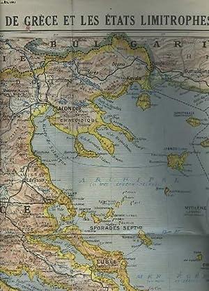 CARTE N° 31 : LE ROYAUME DE GRECE ET LES ETATS LIMITROPHES.: COLLECTIF
