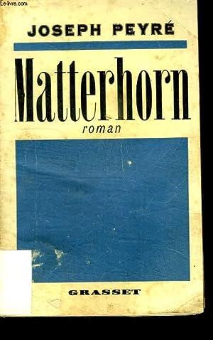 MATTERHORN.: PEYRE JOSEPH.