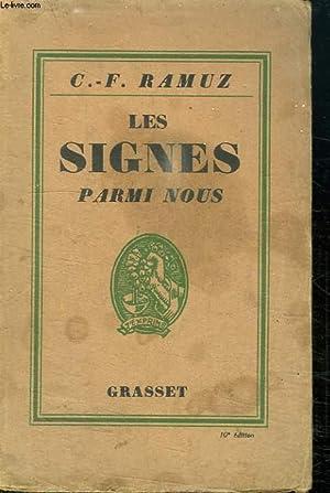 LES SIGNES PARMI NOUS.: RAMUZ C.-F.