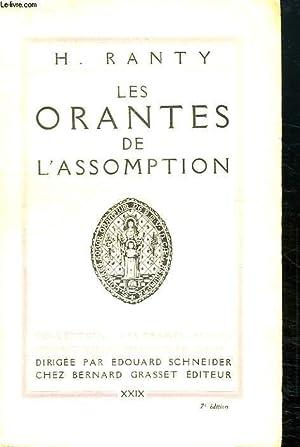 LES ORANTES DE L ASSOMPTION.: RANTY H.