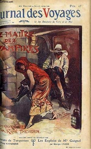 Deuxième série - N°657 - Le maitre des vampires par René Thévenin,suite.: Journal des voyages -...