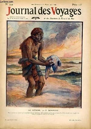 Deuxième série - N°744 - Le fétiche apr G. Nohmant.: Journal des voyages -...