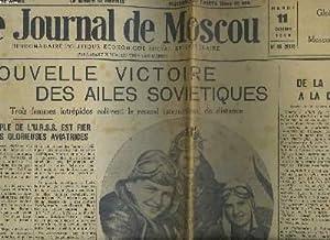 LE JOURNAL DE MOSCOU N°45, MARDI 11 OCTOBRE 1938. HEBDOMADAIRE POLITIQUE, ECONOMIQUE, SOCIAL ET...