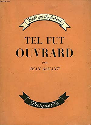 TEL FUT OUVRARD: SAVANT JEAN