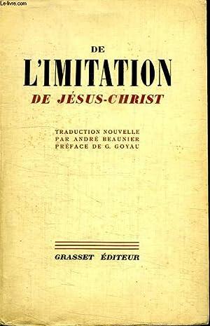 DE L IMITATION DE JESUS CHRIST.: COLLECTIF.