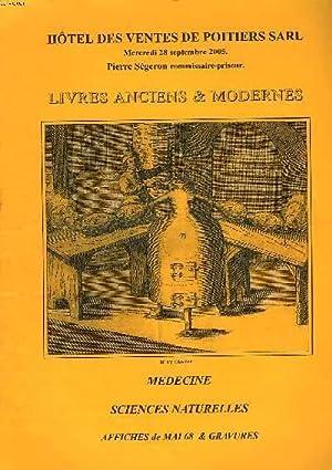 LIVRES ANCIENS ET MODERNES. MEDECINE, SCIENCES NATURELLES,: PIERRE SEGERON (COMM.