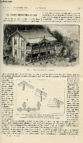 Revue des sciences et de leurs applications aux arts et à l'industrie.: LA NATURE N°1443