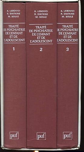TRAITE DE PSYCHIATRIE DE L ENFANT ET: S. LEBOVICI, R.