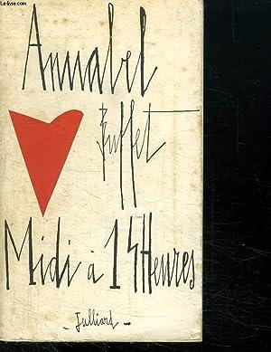 MIDI A 14 HEURES.: BUFFET ANNABEL.