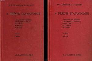 PRECIS D'ANATOMIE (texte + atlas) : Anatomie: Dr GREGOIRE &