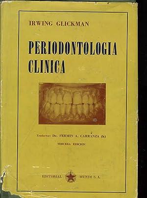 PERIODONTOLOGIA CLINICA: IRWING GLICKMAN