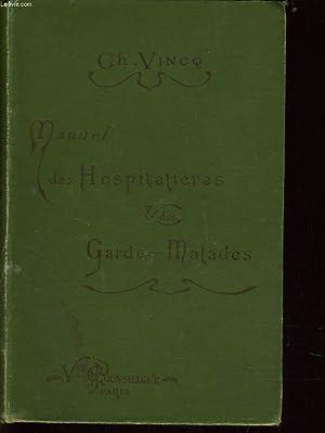 MANUEL DES HOSPITALIERES ET DES GARDE MALADES: CH. VINCQ
