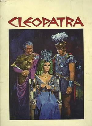 MONOGRAPHIE DE LA PIECE : CLEOPATRA. 20TH CENTURY FOX PRESENTS ELISABETH TAYLOR IN JOSEPH L. ...