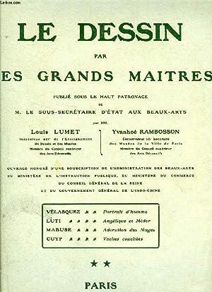 LE DESSIN PAR LES GRANDS MAITRES, FASC.: LUMET LOUIS, RAMBOSSON