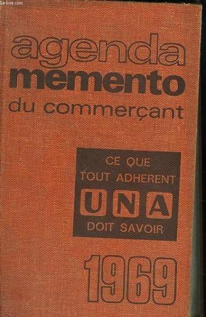AGENDA MEMENTO DU COMMERCANT 1969: J. BRAQUY