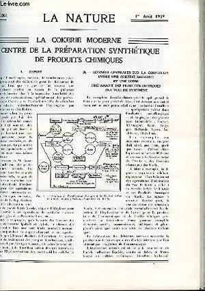 Revue des sciences et de leurs applications aux arts et à l'industrie.: LA NATURE N°3054