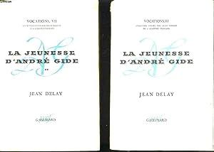 LA JEUNESSE D'ANDRE GIDE en deux tomes : André Gide avant André Walter 1869-1890...
