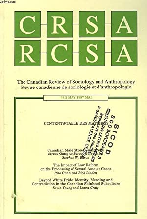 CRSA, THE CANADIAN REVIEW OF SOCIOLOGY AND: COLLECTIF