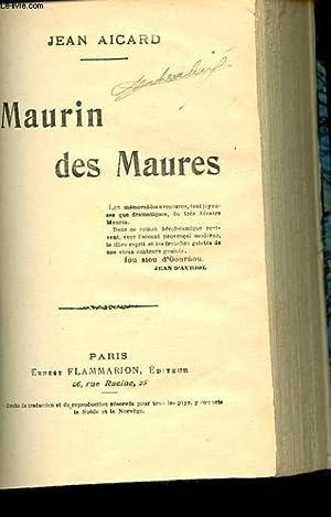 MAURIN DES MAURES: AICARD JEAN