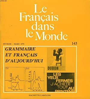 LE FRANCAIS DANS LE MONDE N°143, FEV-MARS: GERARD LILAMAND (DIRECTEUR-GERANT)