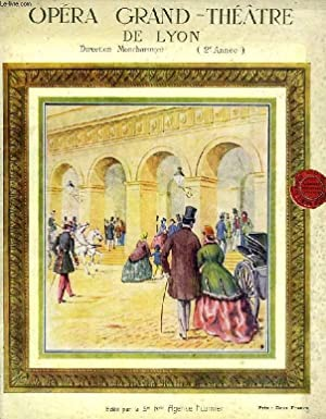 OPERA DU GRAND THEATRE DE LYON, 2e ANNEE (PROGRAMME): COLLECTIF