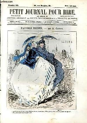 Petit journal pour rire N°482, Pauvres biches par Grévin.: PHILIPON Eugène