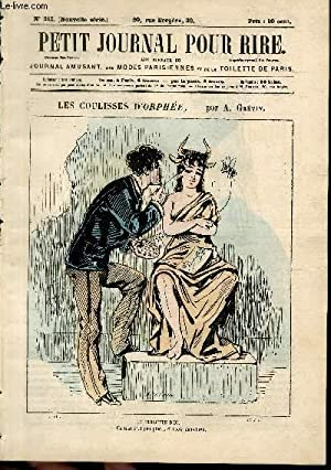 """Petit journal pour rire N°241 nouvelle série, Les coulisses d'""""Orphée&..."""