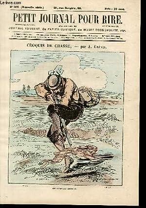 Petit journal pour rire N°266 nouvelle série, Croquis de chasse par Grévin.: ...