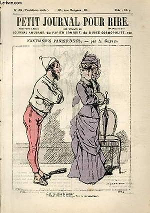 Petit journal pour rire N°69 de la 3è série, Fantaisies parisiennes par Gr&eacute...