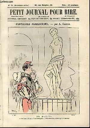 Petit journal pour rire N°79 de la 3è série, Fantaisies parisiennes par Gr&eacute...