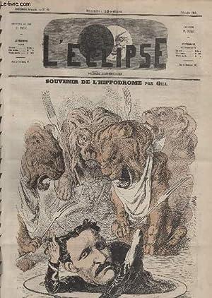 L'Eclipse, N°084, Souvenir de l'hippodrome.: GILL