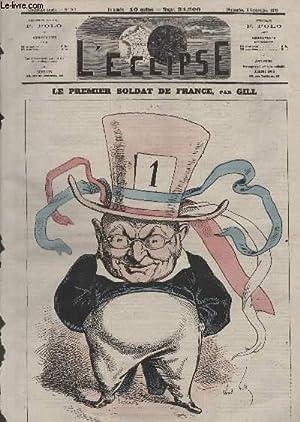 L'Eclipse, N°202, Le premier soldat de France.: GILL