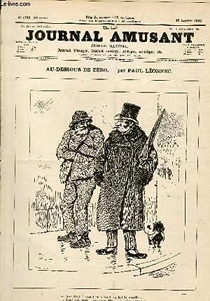Le Journal amusant N°1742, Au-dessous de zéro.: LEONNEC Paul