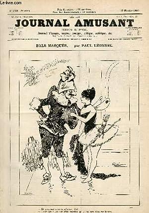 Le Journal amusant N°1746, Bals masqués.: LEONNEC Paul