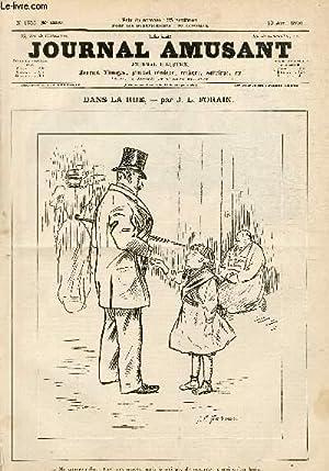 Le Journal amusant N°1755, Dans la rue.: FORAIN J.L.