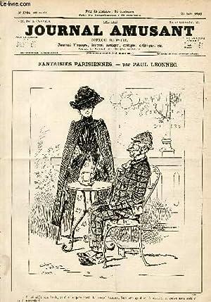 Le Journal amusant N°1764, Fantaisies parisiennes.: LEONNEC Paul