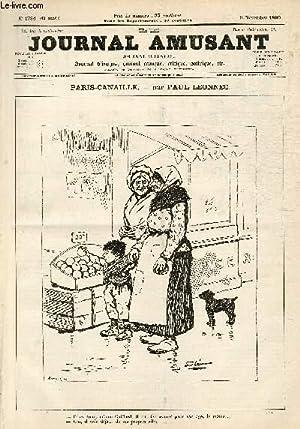 Le Journal amusant N°1784, Paris-canaille.: LEONNEC Paul